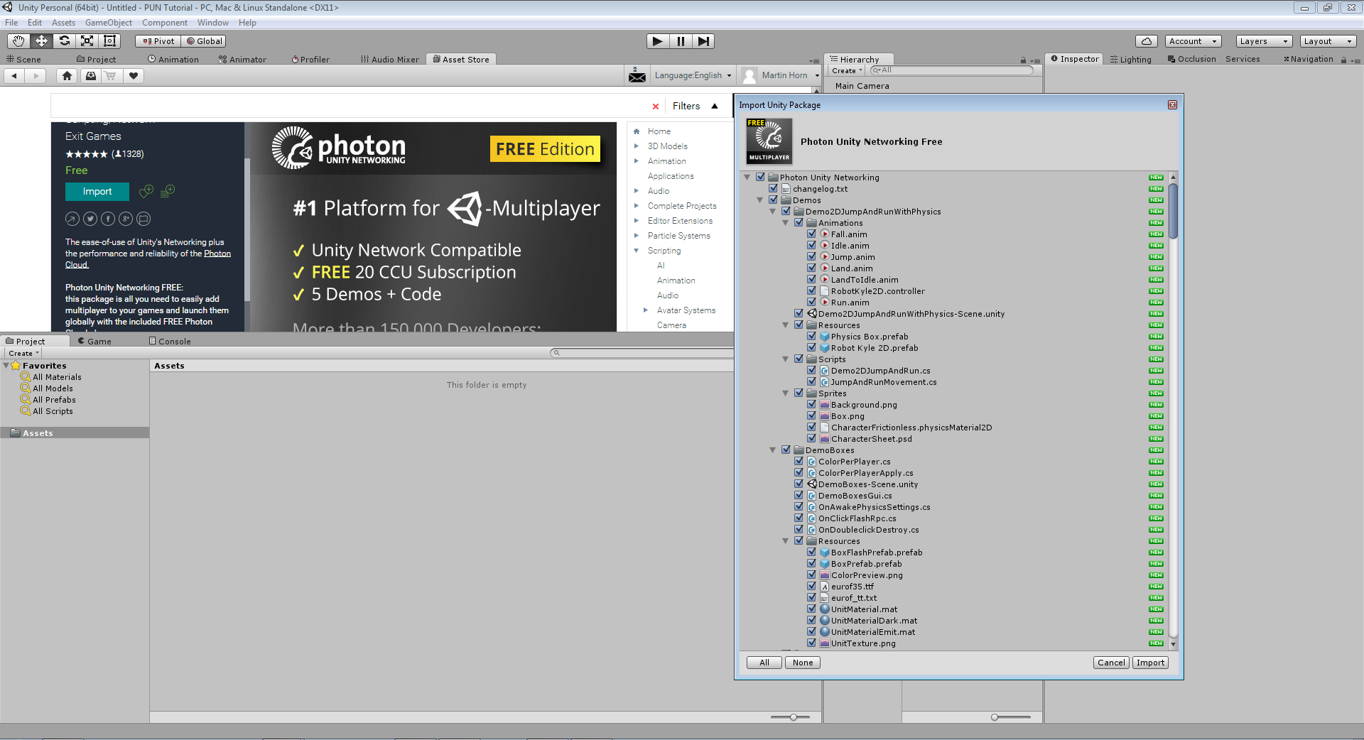 Photon Unity Networking Game Tutorial Part 1 – Doofah Software